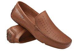 Mokasyny buty wsuwane BADURA 3169 Brązowe
