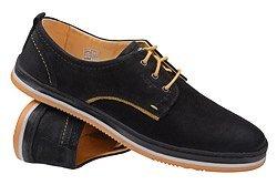 Półbuty KRISBUT 4604-4 Czarne Sneakersy