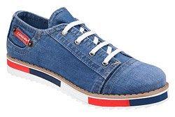 Półbuty LANQIER 40C221 Jeans Blue Denim