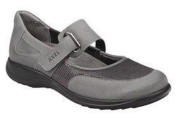 Półbuty na rzepy buty AXEL Comfort 1576 Popielate