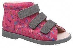 Sandałki Profilaktyczne Ortopedyczne Buty DAWID 1042 Różowe M2