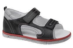 Sandałki dla chłopca KORNECKI 3746 Czarne