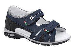 Sandałki dla chłopca KORNECKI 6313 C.Granatowe