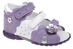 Sandałki dla dziewczynki KORNECKI 3145 Wrzosowe