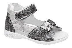 Sandałki dla dziewczynki KORNECKI 4946 Grafitowe