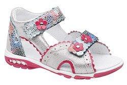 Sandałki dla dziewczynki KORNECKI 4949 Srebrne