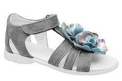 Sandałki dla dziewczynki KORNECKI 4967 Popielate
