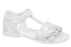 Sandałki dla dziewczynki KORNECKI 6331 Białe