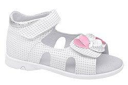 Sandałki dla dziewczynki KORNECKI 6557 Białe