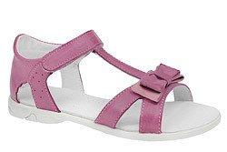 Sandałki dla dziewczynki skóra KORNECKI 3733