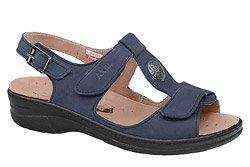 Sandały AXEL Comfort 2275 H Granatowe