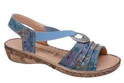Sandały COMFORTABEL 710954-5 Niebieskie
