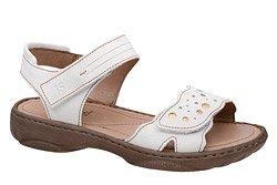 Sandały JOSEF SEIBEL 76755 Debra 55 Białe Ecru