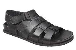 Sandały MANITU 610224-1 Czarne