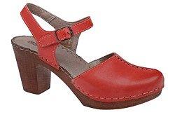 Sandały MANITU 920207-4 Czerwone
