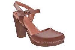 Sandały MANITU 920224-2 Brązowe