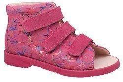 Sandały Profilaktyczne Ortopedyczne Buty DAWID 1043 Różowe M1
