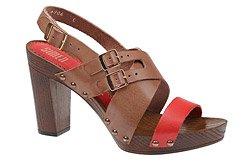 Sandały damskie SIMEN 6906 Brązowe