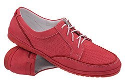 Sneakersy Półbuty NIK 05-0188-004 Amarantowe