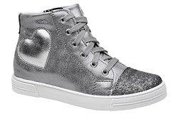 Sneakersy Trzewiki KORNECKI 6135 Grafitowe Srebrne nieocieplane