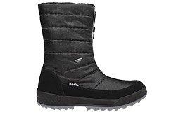 Śniegowce MANITU 991177-1 Czarne Polar-Tex