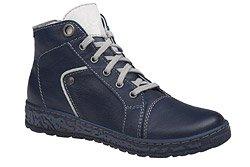 Trzewiki buty zimowe KACPER 4-6336-136 Granatowe
