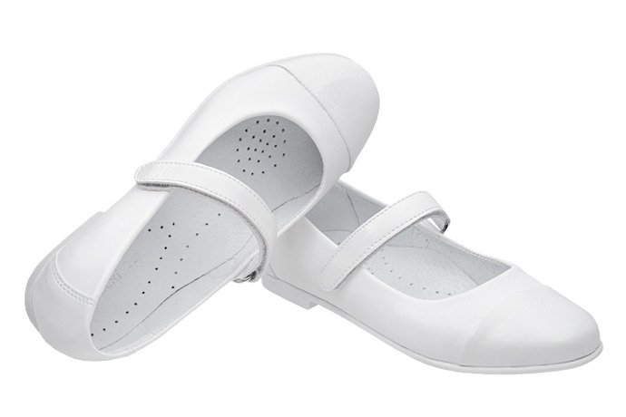 Balerinki buty komunijne KORNECKI 6098 Białe