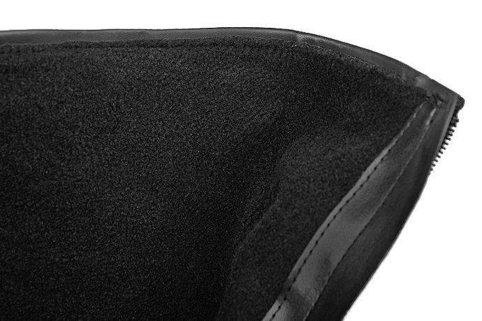 Botki VERONII 3565 Czarne ocieplane Kornecki