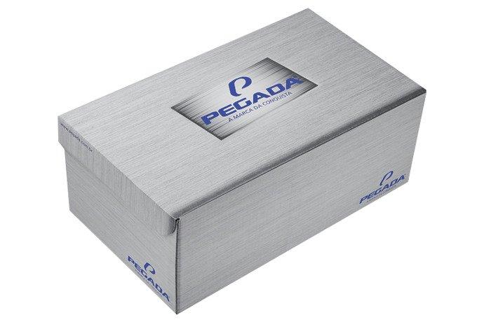 Brazylijskie Klapki PEGADA 132705 Brązowe na rzepy
