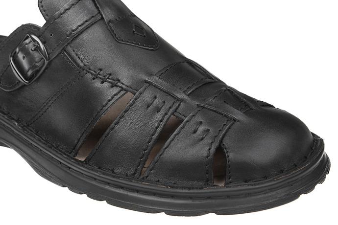 Buty Klapki ŁUKBUT 962 Czarne