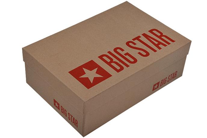Czółenka granatowe Szpilki BIG STAR U274200
