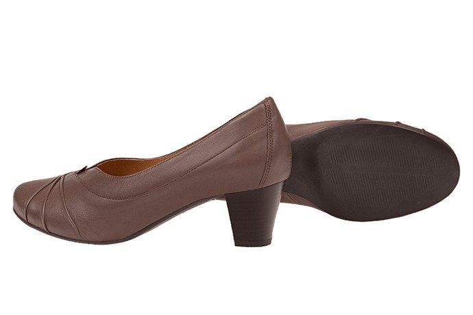 Czółenka na obcasie buty AXEL Comfort 1007 Sabbia