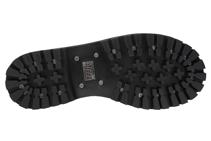 Glany STEEL 20-tki 139/O Czarne 20-dziurek