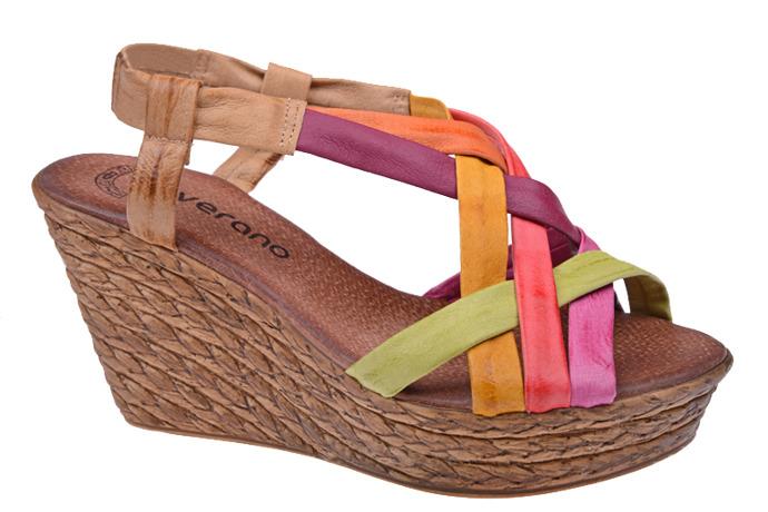 Hiszpańskie Sandały VERANO 739 Multicolor