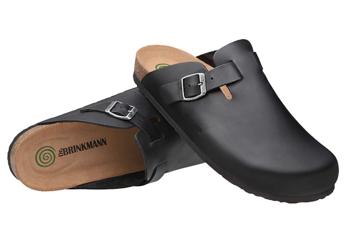 Klapki Dr BRINKMANN 600389-1 Czarne