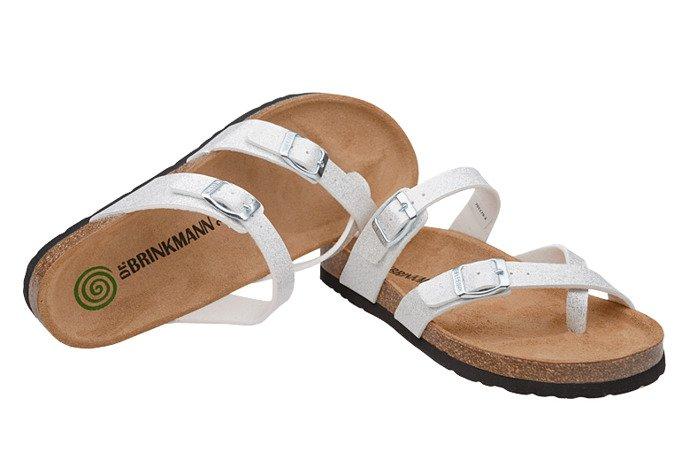 Klapki Japonki Dr Brinkmann 701179-3 Białe