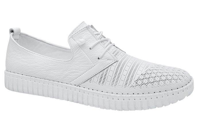 Komfortowe Półbuty ARTIKER 46C2175 Białe