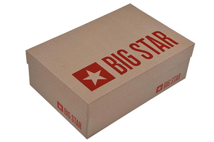 Kultowe Trampki BIG STAR T274026 Białe