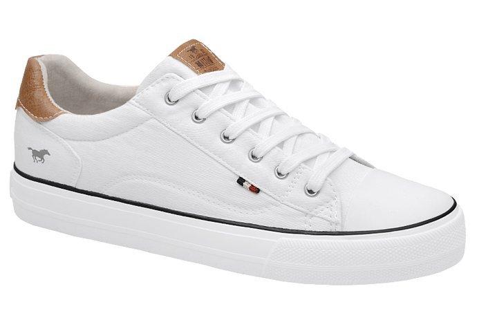 Kultowe Trampki MUSTANG 48C0033 Białe