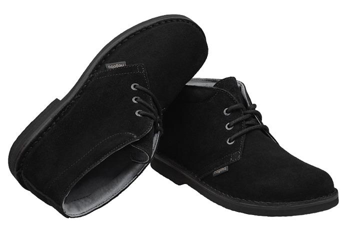 Kultowe Trzewiki buty NAGABA 075 Czarne