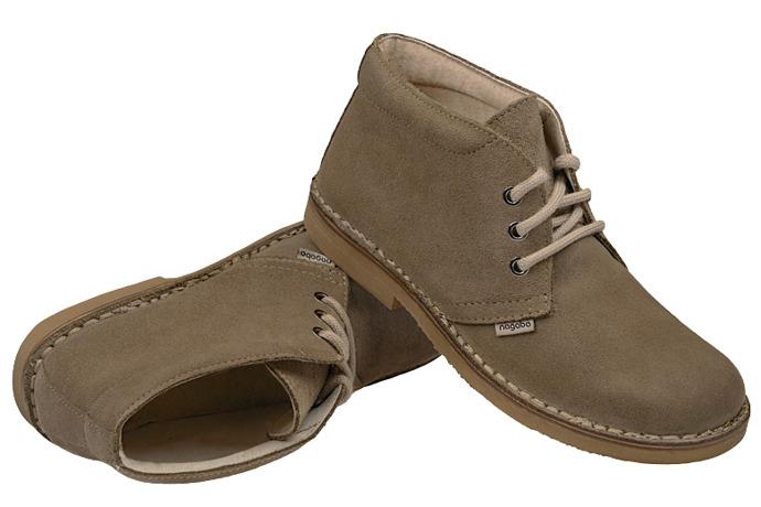 Kultowe Trzewiki buty NAGABA 075 Oliwkowe