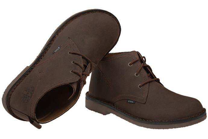 Kultowe trzewiki buty STEEL 284-BrCr
