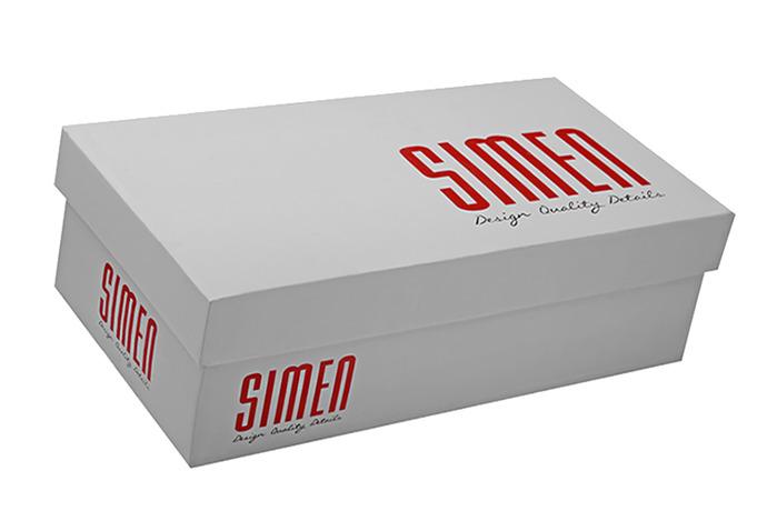 Mokasyny wsuwane SIMEN 6873 Brązowe