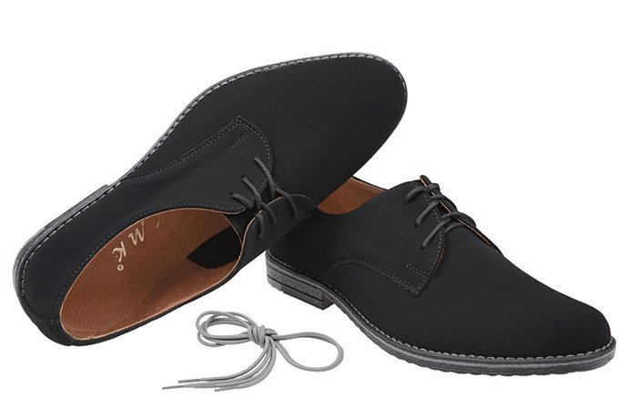 Półbuty komunijne wizytowe buty KMK 199 N Czarne