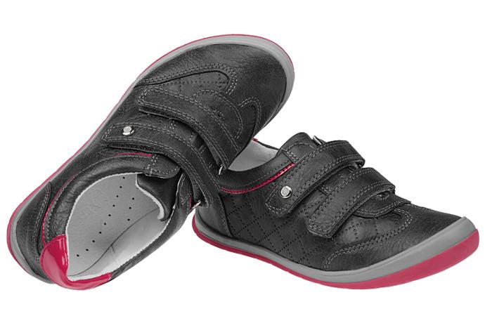 Półbuty na rzepy buty KORNECKI 4456 Grafit