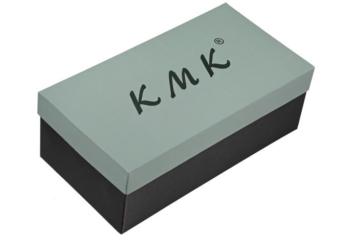 Półbuty eleganckie Lakierki KMK 99 Granatowe L