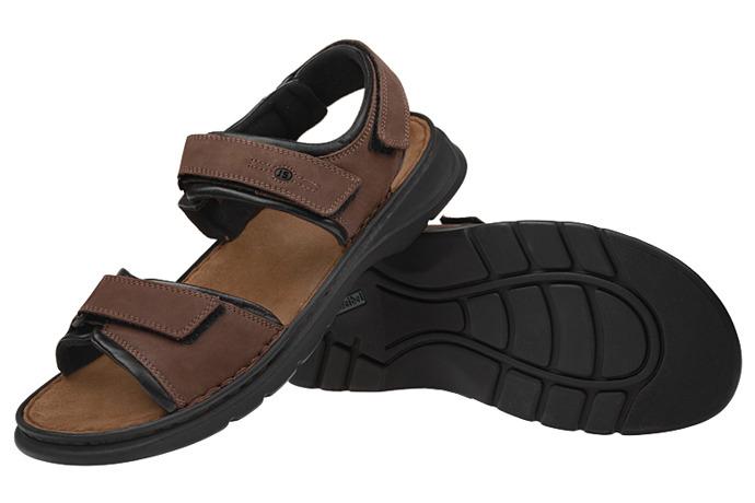 Sandały JOSEF SEIBEL 10104 Rafe Brązowe XXL
