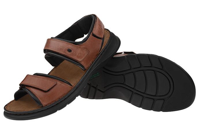 Sandały JOSEF SEIBEL 10104 Rafe Choco Brąz XXL