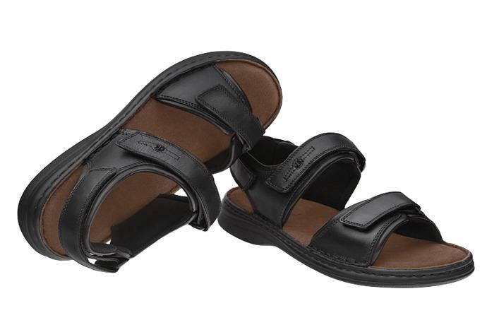 Sandały Buty JOSEF SEIBEL 10104 Rafe Czarne