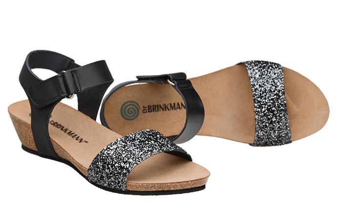 Sandały buty Dr Brinkmann 710783-1 Czarne